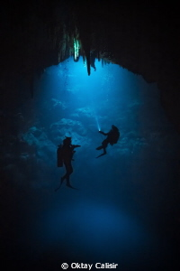 Cenote &quot;The Pit&quot; - The Abyss... by Oktay Calisir 